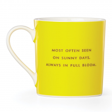 "Things We Love Straw Bag ""Cheerful"" Mug"