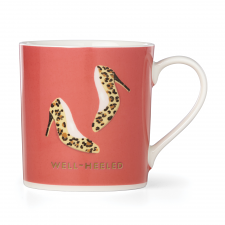 "Things We Love Leopard Heels ""Well Heeled"" Mug"