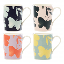 Petal Lane Mug Set of 4