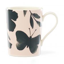Petal Lane Green Flower Mug