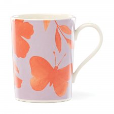 Petal Lane Orange Flower Mug