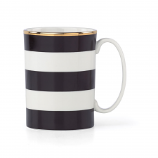 Everdone Lane Black Stripe Mug