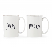 Bridal Party Mr & Mrs Mug Pair