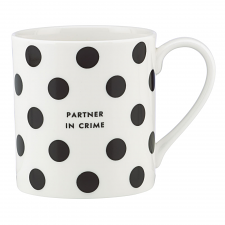 Wit & Wisdom Partner in Crime Mug