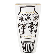 kate spade new york Daisy Place Vase 23cm Chinioserie