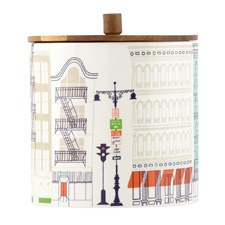 About Town Canister Large 16.5cm (Wide)