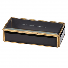 Out Of The Box Jewellery Box Black