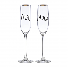 Bridal Party Flute Pair
