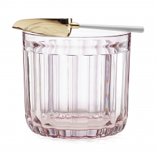 Park Circle Rose Tea Ice Bucket with Scoop
