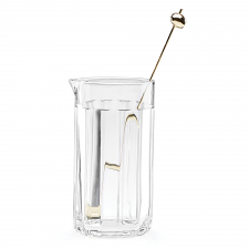 Park Circle Clear Cocktail Carafe with Stirrer
