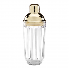 Park Circle Clear Cocktail Shaker