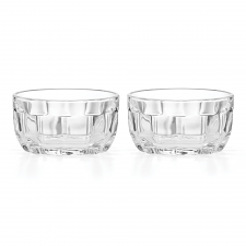 Park Circle Clear Mini Bowl Set of 2