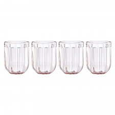 Park Circle Rose Tea Tumbler Set of 4