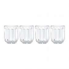 Park Circle Clear Tumbler Set of 4