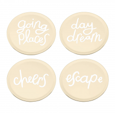 kate spade new york All That Glistens Coaster Set of 4