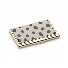 Boudoir Chic Animal Card Case