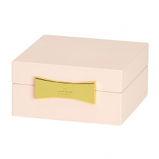 kate spade new york Garden Drive Square Jewellery Box Pink 10cm