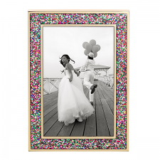 Simply Sparkling 4x6 Frame Multi-Coloured