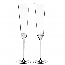 kate spade new york Take the Cake Toasting Flute Pair