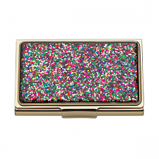 kate spade new york Simply Sparkling Business Card Holder Multi-Coloured