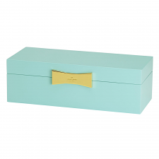 kate spade new york Garden Drive Jewellery Box Turquoise 27cm