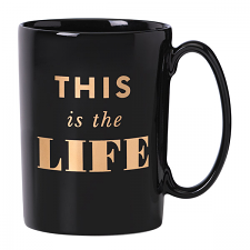 kate spade new york Simply Sparkling This Is The Life Mug