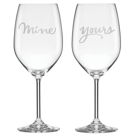 Two of a Kind Mine/Yours Wine Pair