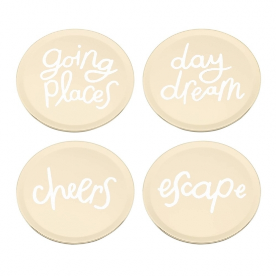All That Glistens Coaster Set of 4